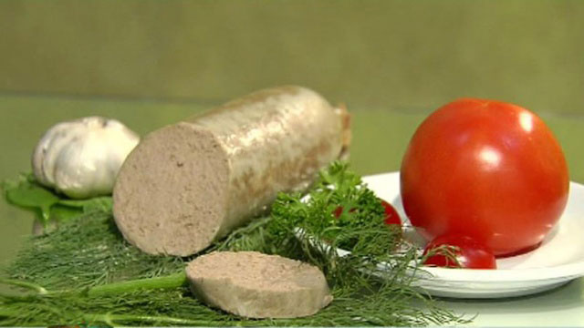 ливерная колбаса яичная
