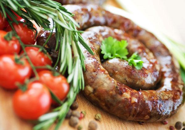 украинская домашняя колбаса фото