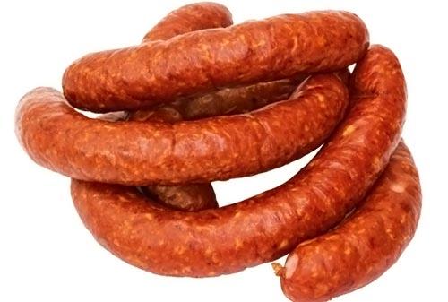 Украинская полукопченая колбаса