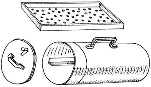 Коптильня из цилиндра
