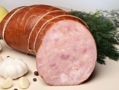 Ветчинно-рубленая колбаса