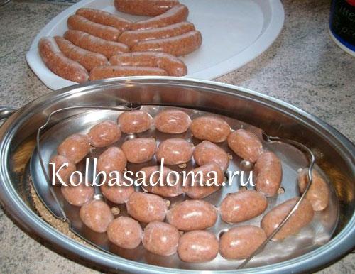 рецепт колбаски для гриля