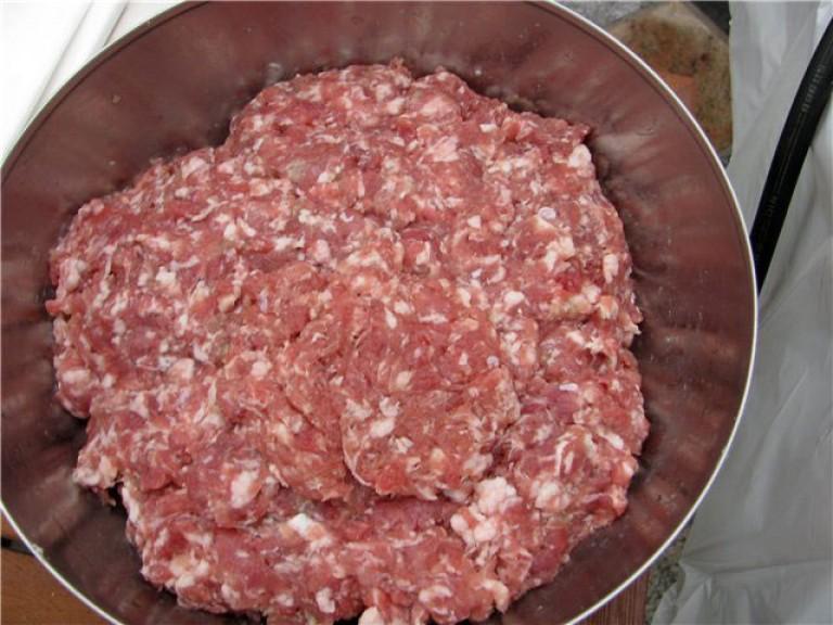 Фарш для колбасок рецепт
