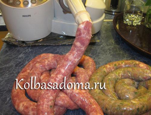 Как приготовить колбаски из баранины #7