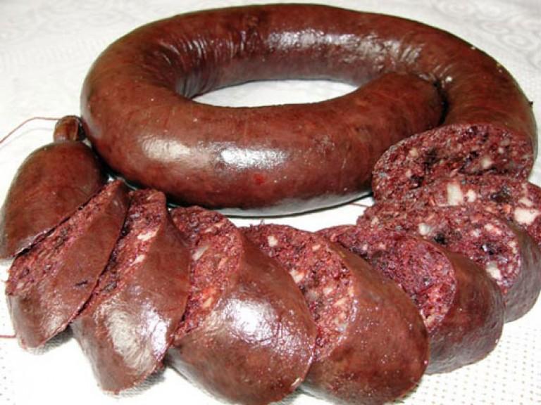 Готовим кровяную колбасу в домашних условиях