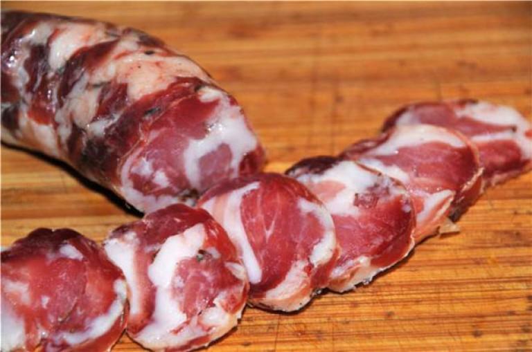 Фото рецепт вяленой домашней колбасы