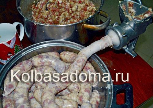 колбаса с коньяком